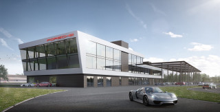 Porsche's next experience center is being built at a German F1 track