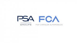 PSA Group and Fiat Chrysler Automobiles logos