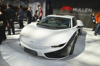 Qiantu K50 by Mullen, 2019 New York auto show
