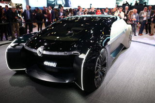 Renault EZ-Ultimo concept, 2018 Paris auto show