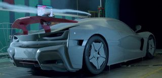 Rimac C_Two wind tunnel testing