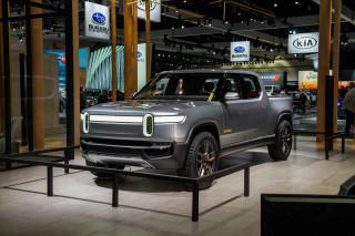 Rivian R1T, 2018 LA Auto Show