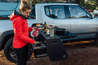 Rivian builds R1T Overland as cookout camping special
