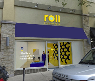 Roll by Goodyear trial store in Maryland