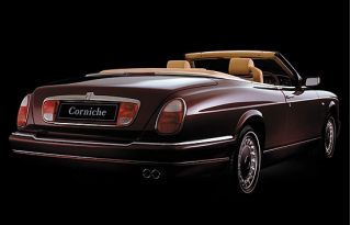 Rolls Royce Corniche Rear