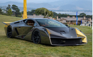Salaff C2 coach-built supercar debuts in Monterey