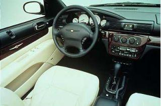 Sebring Convert. Interior