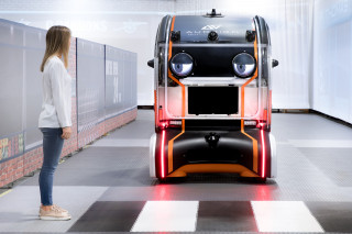 Jaguar Land Rover tests self-driving cars that look alive