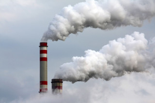 Smokestacks [CREDIT: Global Climate Budget 2018]