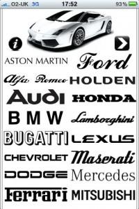 Sports Car Engines iPhone app