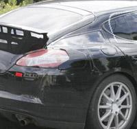 Spy Shots: 2010 Porsche Panamera up close