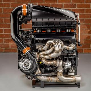 SSC Tuatara engine