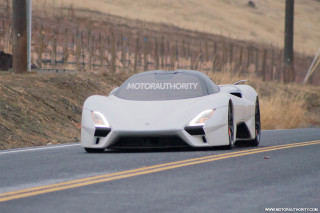 Pre-production SSC Tuatara hypercar tests on public roads