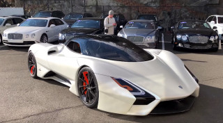 SSC Tuatara prototype at dealership