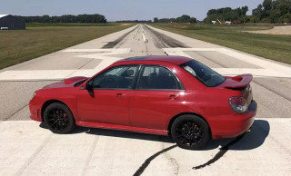 "2006 Subaru WRX from ""Baby Drive"" for sale"