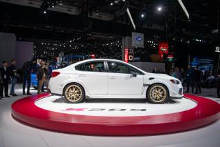 2020 Subaru WRX STI S209, 2019 Detroit auto show