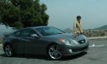 Tanner Foust filming in L.A. with Top Gear USA