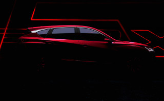 Teaser for 2019 Acura RDX prototype debuting at 2018 Detroit auto show