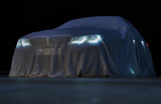 Teaser for 2019 BMW 3-Series debuting at 2018 Paris auto show