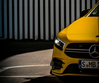 Mercedes-AMG A35 hot hatch teased ahead of 2018 Paris auto show