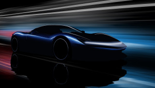 Teaser for Pininfarina Battista debuting at 2019 Geneva auto show