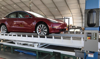 First Tesla Model 3 AWD Performance produced