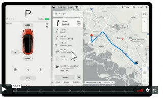 Tesla rolls out new Version 9 software–without full-self-driving features
