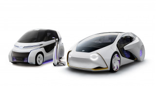 Toyota tackles future mobility with Concept-i trio