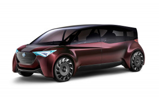 Toyota hints at luxury car of the future with fuel cell concept