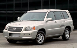 Toyota Highlander Fuel Cell Hybrid Vehicle (FCHV)