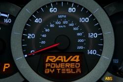 Toyota RAV4 EV teasers