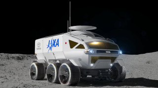 Toyota shoots for the stars, reveals its lunar rover