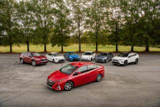 Toyota's hybrid family