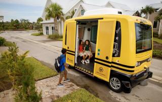 Transdev self-driving school bus