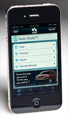 USAA iPhone app