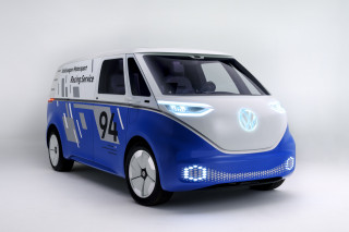 VW updates I.D. Cargo Buzz with solar for LA Show