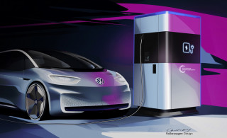 Volkswagen tests mobile DC fast charging station for urban network gaps