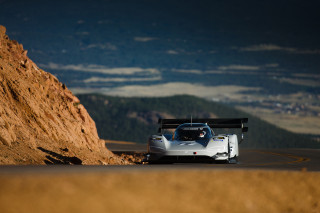 VW ID R at Pikes Peak