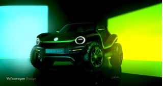 Volkswagen confirms electric dune buggy concept for Geneva auto show