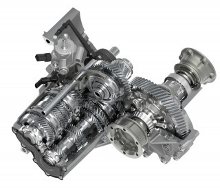 VW MQ281 6-speed manual transmission
