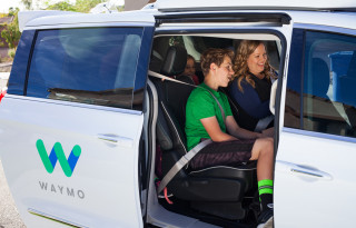Waymo self-driving car