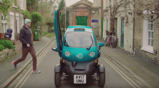 Wayve self-driving car prototype