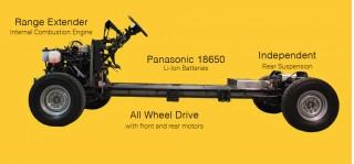Workhorse W-15 plug-in truck